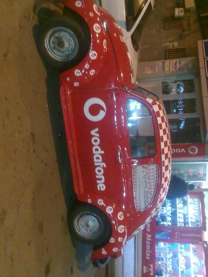 Vodafone Techno Manias Araç Kaplama
