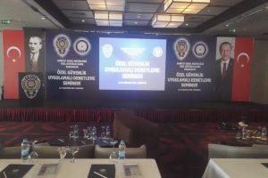 Erzurum Sway Otel Sahne ve Backdroop Yapım İşi