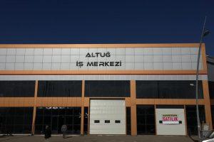 Erzurum Altuğ İş Merkezi Kabartma Harf